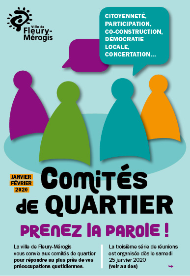 comits de quartier flyer