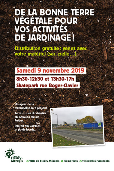 distribution terre vegetale